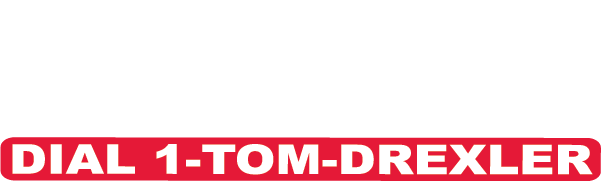 Tom Drexler White Logo